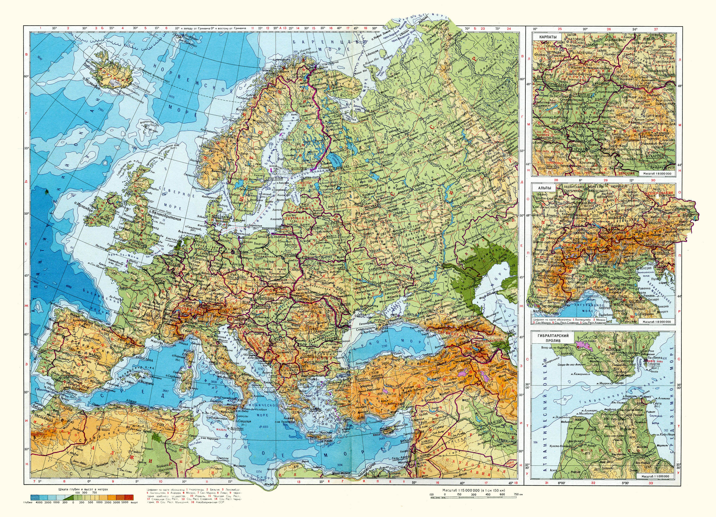 Maps of Europe | Map o...