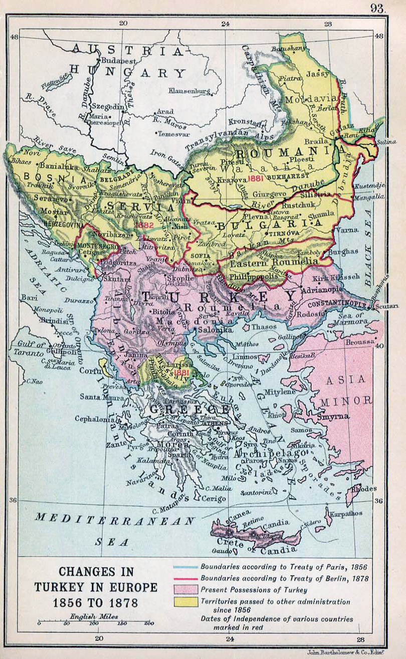 the reasons behind stability in the balkan area between 1890 and 1908 The peaceful transition of power from the uk to the us what exactly was the reason behind this the balance of power in north america, 1815–1908.