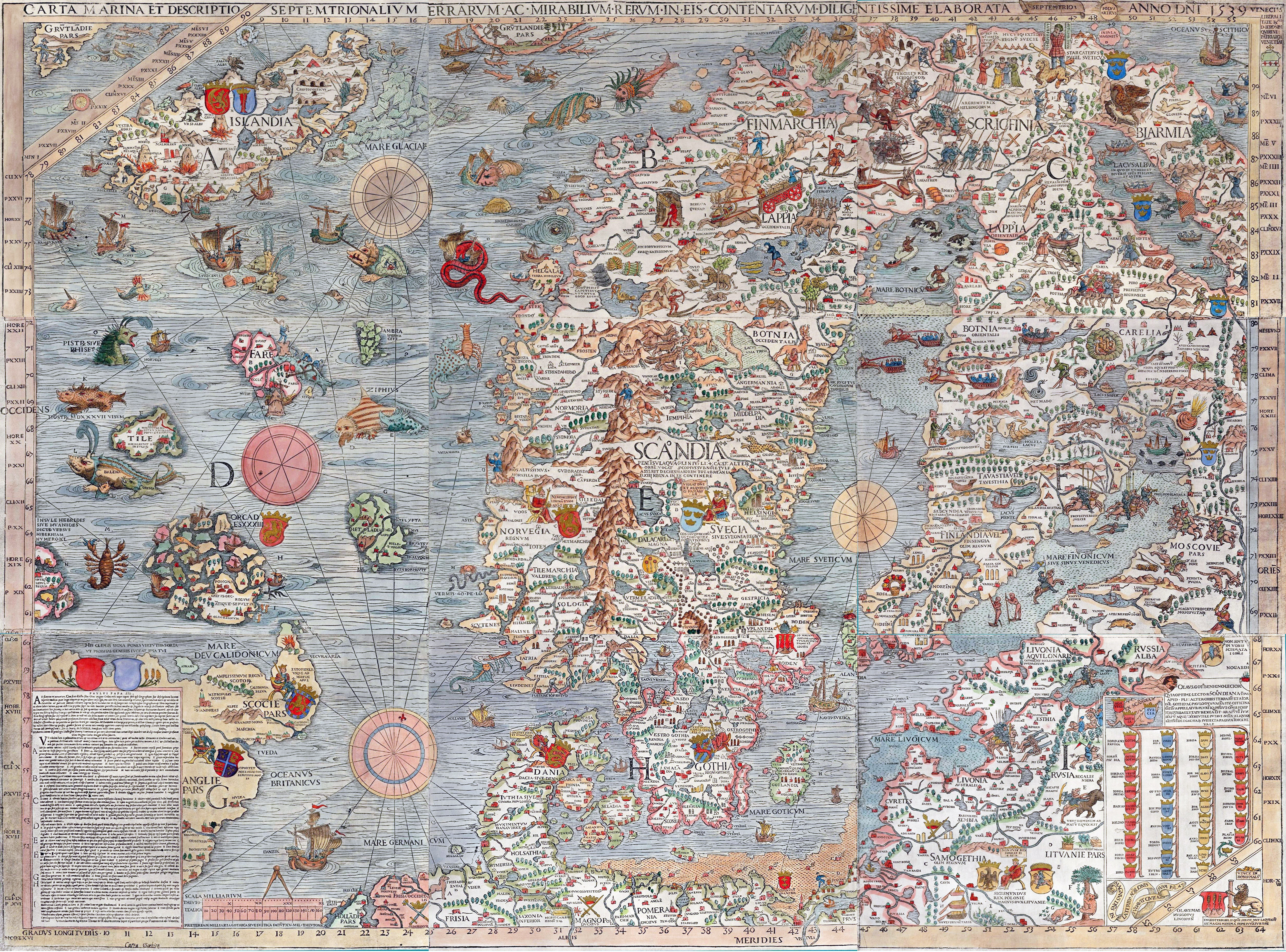 Maps of Baltic and Scandinavia   Detailed Political, Relief, Road ...