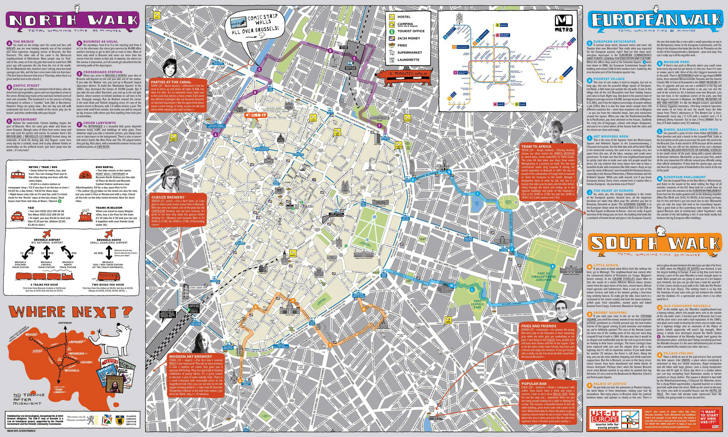 Maps of Brussels | Detailed map of Brussels in English | Maps of ...