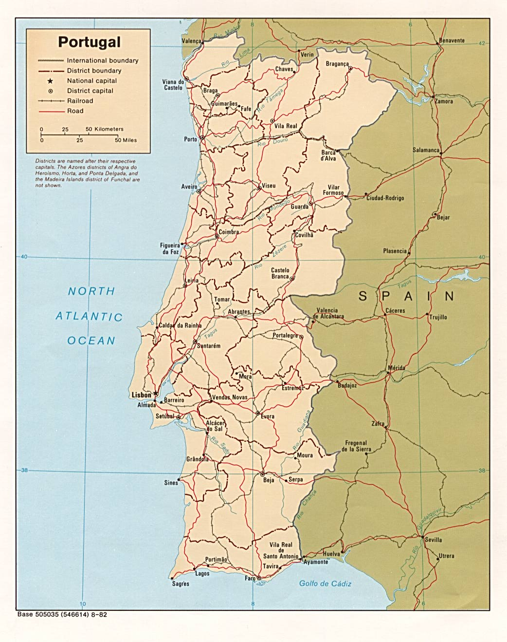 Maps of Portugal Detailed map of Portugal in English – Tourist Map Portugal