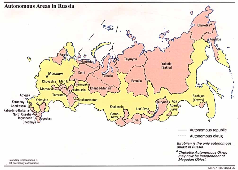 Maps of Russia | Detailed map of Russia with cities and regions ...