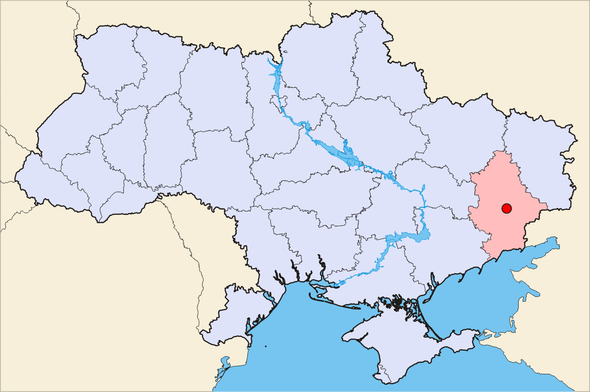 Maps of Donetsk Detailed map of Donetsk in English Maps of