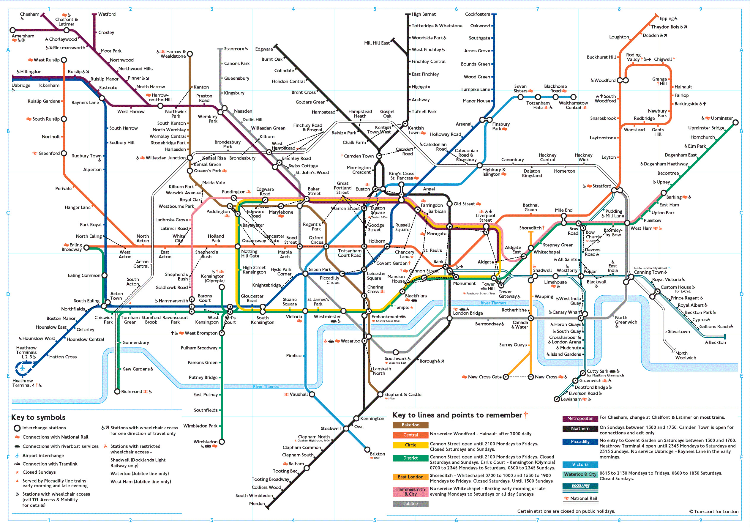 Maps of London Detailed map of London in English – London City Map