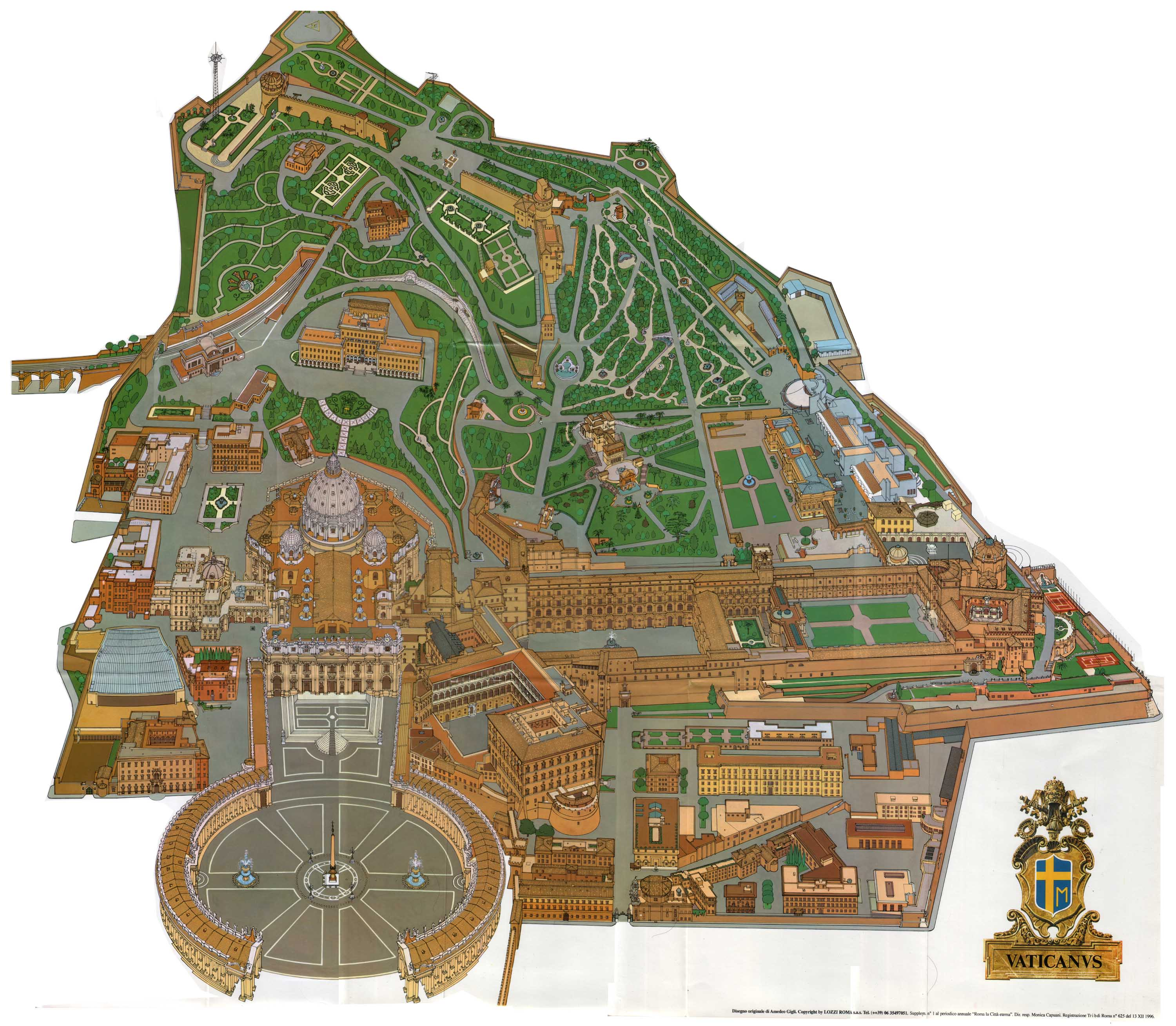 Maps of Vatican | Deta...