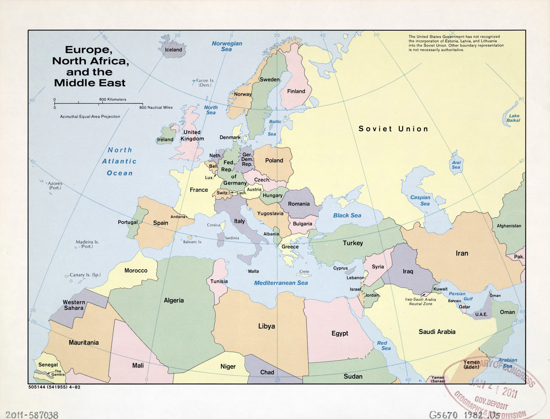 Map Of Europe And North Africa  My blog
